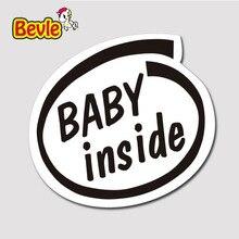 Bevle 3218 Baby in Seite Wasserdicht Mode Kühle DIY Notebook Aufkleber Laptop Gepäck Mode Graffiti Auto Cartoon 3 Mt Aufkleber