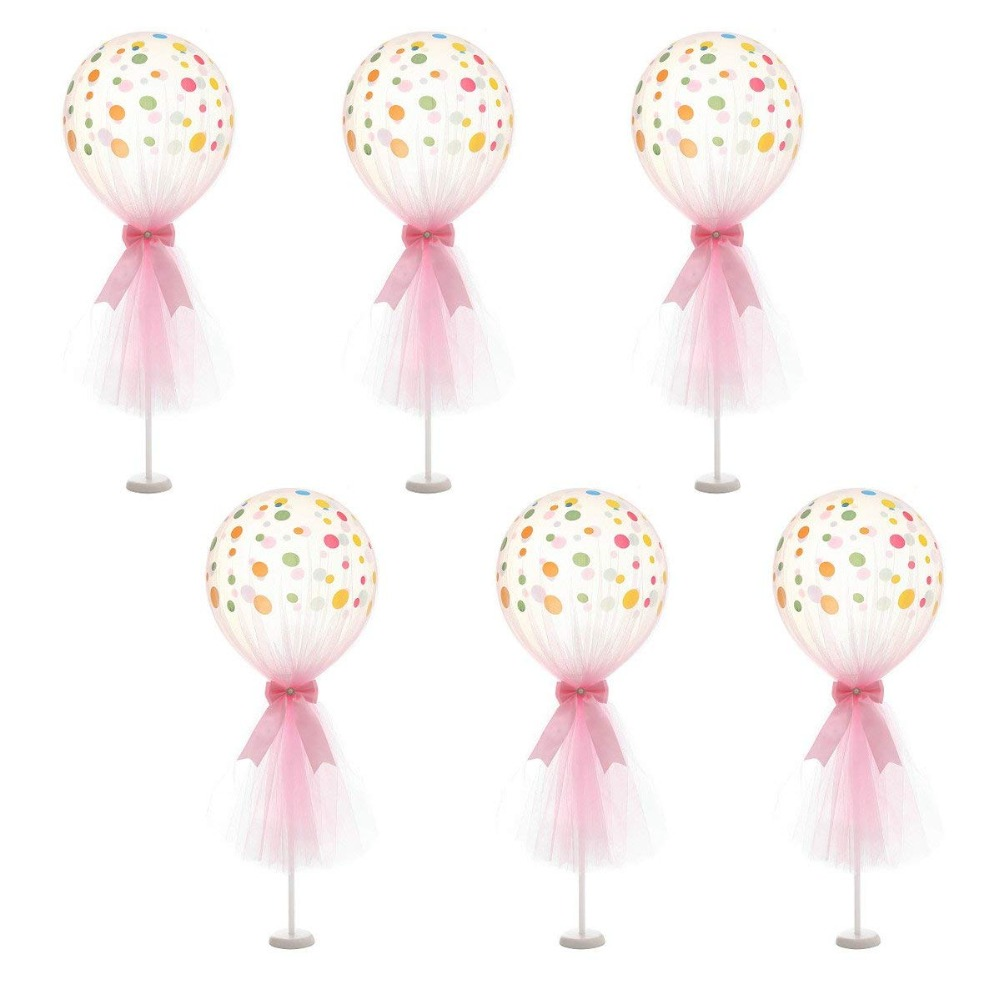 Image 2 - Wedding Decoration Table Balloon Stand Holder Balloons Stick Floating Baloon Supporting Rod Birthday Party Decoration Adult Kids-in Ballons & Accessories from Home & Garden