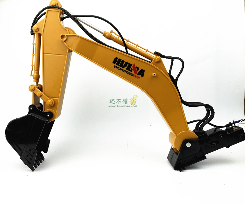 Mechanical arm mechanical manipulator grab six channel excavator excavator bucket excavator arm DIY