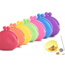 Wallet Purse Small Change Silicone Kids Women Children Girls Mini New Solid for Gifts