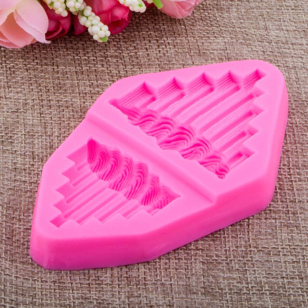 Photo frame lace Fondant cake silicone mould Kitchen for pastry candy Gum paste Chocolate Trim molding removal tool set FT-0916