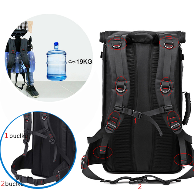 Outdoor Multifunction Travel Backpack  4