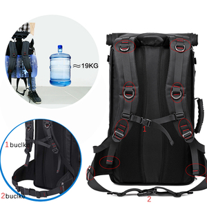 Image 5 - KAKA 50L Waterproof Travel Backpack Men Women Multifunction 17.3 Laptop Backpacks Male outdoor Luggage Bag mochilas Best quality