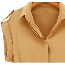 2017 Fashion Women's Short Sleeve Stretch Chiffon Casual OL Belt Mini Dress blusas mujer Vestidos