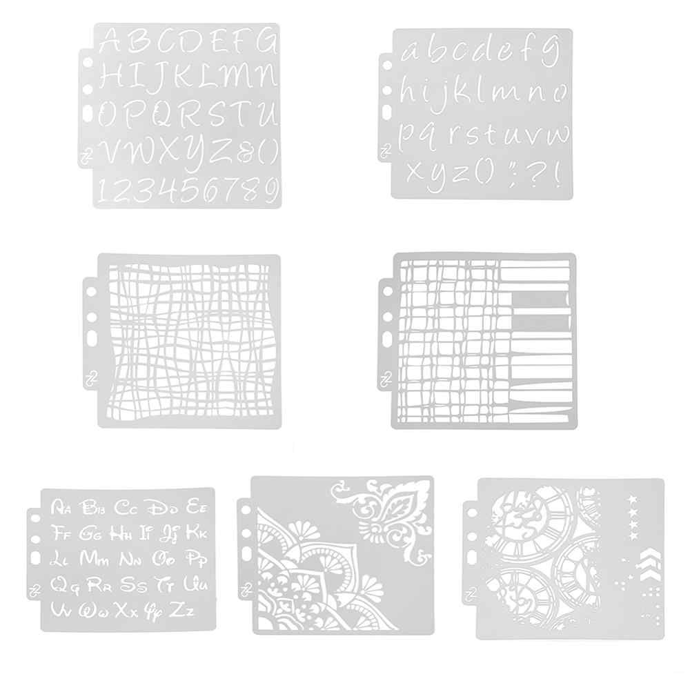 5 Cake Stencil Resuable Fondant Template DIY Mold for Bakery Restaurant Home