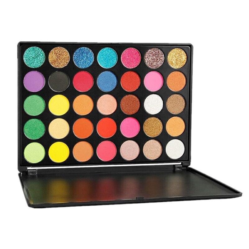 35 Colors Imagic Eyeshadows Palette Metallic Glitter Shimmer