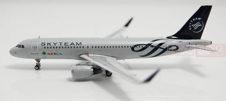 Phoenix 10864 MEA A320 F-OMRD Star Alliance, shark fin winglets commercial jetliners plane model hobby