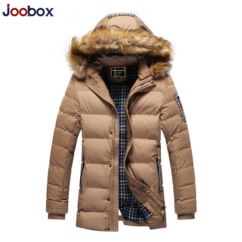 Korean Style Winter New Casual Mens Hooded Down Jacket Coat Long Sleeved Casacos De Inverno Masculino Parka Pluma Hombre Anorak