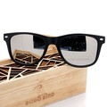BOBO BIRD Brand Designer Simple Style Unisex Polarized Sunglasses Women Mens Glasses With 6 Color Plastic & Bamboo Frame oculos