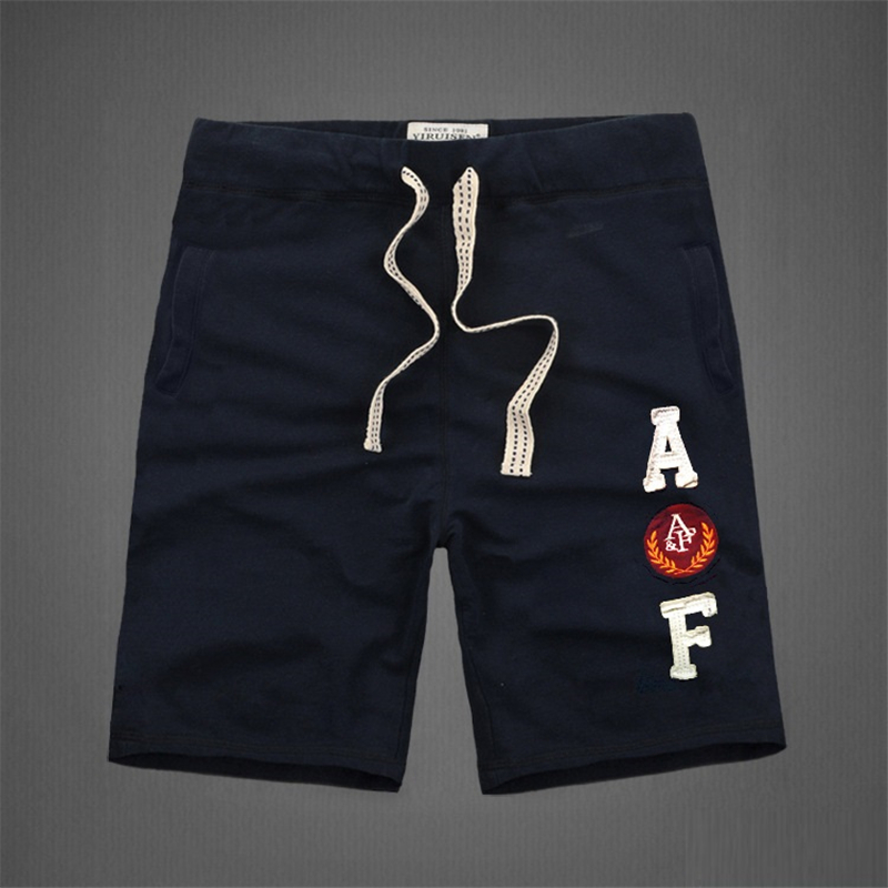 American Style Fashion Mens Shorts 100% Cotton Thick High Quality Knee Length Indians And Letter Decorated Causal Short