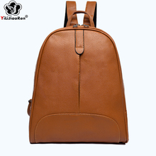 Fashion Backpack Female 2019 Famous Brand Leather Backpack Women Large Capacity School Travel Bag Luxury Shoulder Bags for Women ansloth famous brand mini backpack female pu leather bags fashion crossbody bag women backpack classic luxury shoulder bag hps89