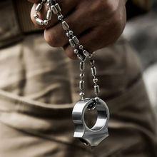 Edc инструмент из нержавеющей стали Женское кольцо для самообороны