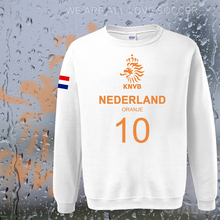 Netherlands nation team Nederland 2017 hoodies men sweatshirt sweat new streetwear socceres jersey tracksuit Holland Dutch NL
