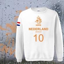 Netherlands nation team Nederland 2017 hoodies men sweatshirt sweat suit streetwear socceres jersey tracksuit Holland Dutch NL