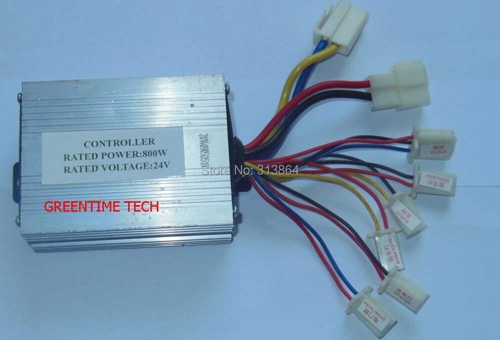̿̿̿(•̪ )24V800W electric bicycle brush motor controller/ Electric ...