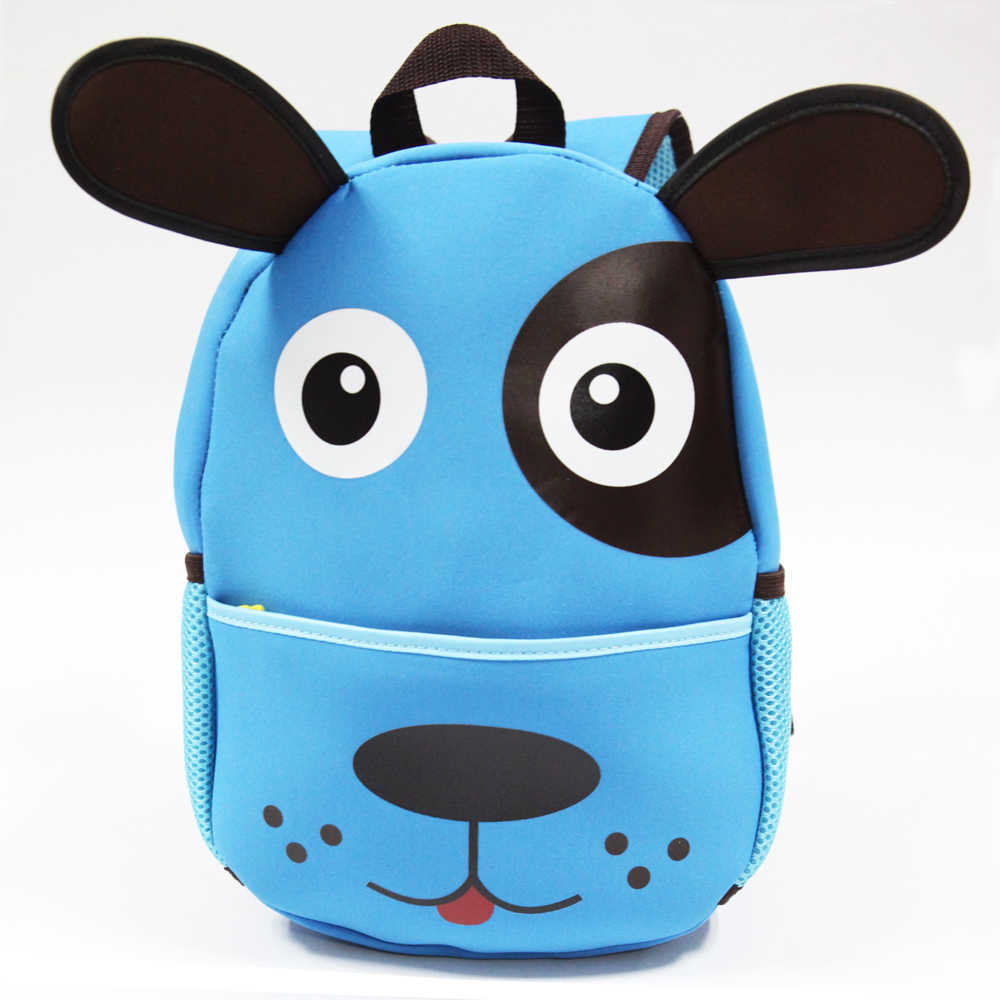 02d9b0ac56d7 ... KOKOCAT Children 3D Cute Animal Design Backpack Toddler Kid Neoprene School  Bags Kindergarten Cartoon Comfortable Bag ...