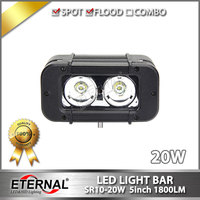 Wholesale 10pcs 5in 20W Led Light Bar 4x4 Truck Trailer Tractor Work Light Driving Fog Lamp