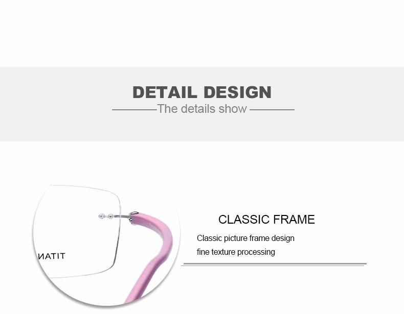 New-Fashion-Titanium-Myopia-Rimless-Glasses-Memory-Eyeglasses-Optical-Frame-TR90-Eyewear-Women-Brand-Designer-8201-FONEX_12