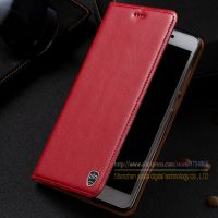 Vintage Genuine Leather Flip Stand Case For Xiaomi Redmi Note 4X Note4x 5 5 Luxury Leather