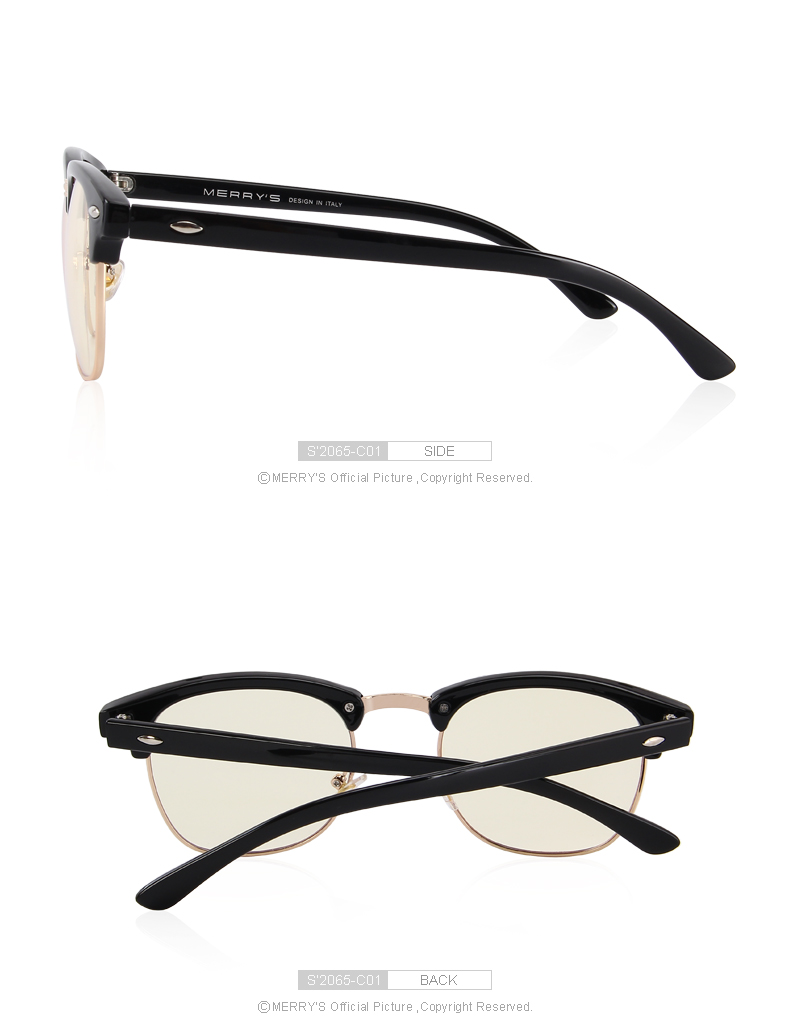 5503b5769b MERRY S Anti Blue Rays Computer Goggles Reading Glasses 100% UV400 ...