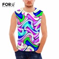 FORUDESIGNS Sleeveless Muscle Vests for Man Clothing Summer Slim Fit Casual Tank Tops Men Body Engineers Undershirt Male Shirts