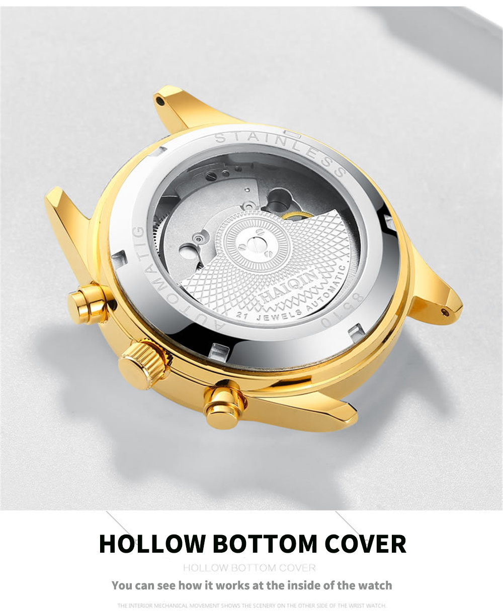 HTB1UtpiXOnrK1Rjy1Xcq6yeDVXa7 HAIQIN Men's watches Automatic mechanical Men Watches Business Watch men top brand luxury Military Waterproof Tourbillon Clock