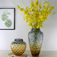 American Style colored floor vase for decoration home decor Tabletop vases for flowers terrarium gift for wedding decoration