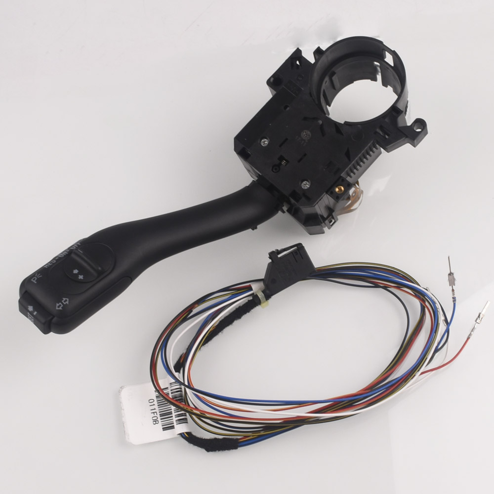 Cruise Control Stalk Switch System For <font><b>Audi</b></font> A6/S6 <font><b>C5</b></font> <font><b>allroad</b></font> <font><b>quattro</b></font> For Seat Alhambra Leon Toledo 8L0953513J with Cables image