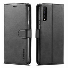 For Samsung Galaxy A8 Plus A7 A9 2018 Case Cover Coque Luxury Magnetic Flip Kickstand Wallet Leather Phone Bags A 7 8 Retro Etui