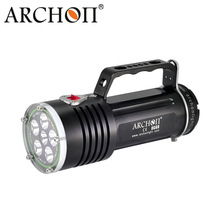 ARCHON DG60 WG66 Goodman Handle Diving Light XM-L2 LED 5000lm Rechargeable Li- ion Battery Pack technical Scuba Dive Torch archon dg150w wg156w diving flashlight 10000lm rechargeable dive light underwater photography torch with battery pack