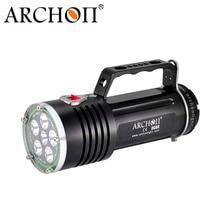 ARCHON DG60 WG66 Goodman Handle Diving Light XM-L2 LED 5000lm Rechargeable Li- ion Battery Pack technical Scuba Dive Torch