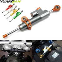 Motorcycle Accessories Damper Stabilizer Damper Steering For Kawasaki NINJA 250R 300 ER6 650 650R 1000 ZX6