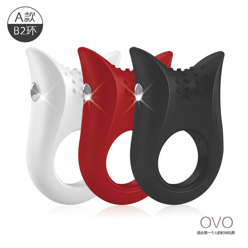 OVO Men Delay Mute Vibrating Cock Ring Waterproof Penis Rings Sex Products Adult Sex Toys for Couples japan original npg third generation penis prepuce correction cock ring sex toys for men penis sleeve rings sex products cockring