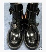 Womanizme gruaja lokomotivë në Paris, çizme, çizme sandale prej - Këpucë për femra - Foto 3