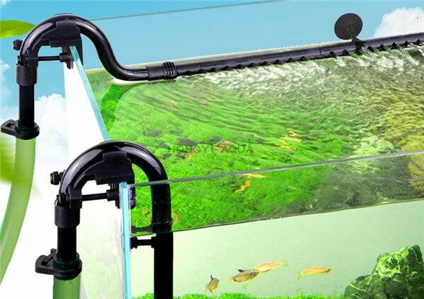 Aquarium Bidon Externe Filtre Entrée Sortie Tube Aquarium Filtre Accessoires D'entrée de Sortie Tube Tuyau Fit Pour 16mm