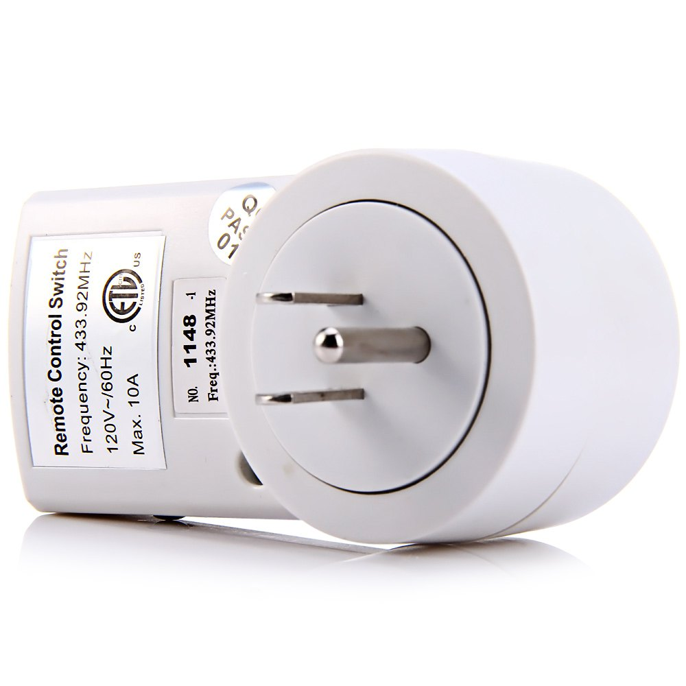 Hot Selling Power Outlet Wireless Light Switch 120V 10A Smart Power ...