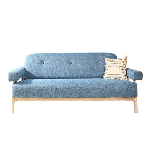 Free Mitte Des Moderne Bunte Leinen Sofa Couch Sitzer Dunkelgrau Blaue  Farbe Wohnzimmer Mbel Home Ecke Faul Sofa In Mitte Des With Blaue Ledercouch