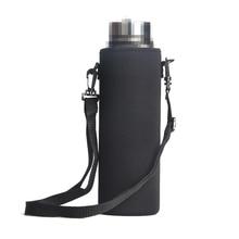 420/550/800/1000/1500ml портативный неопрена теплый тепловой термос сумка с веревкой изоляции бутылки воды Кубок сумки дропшиппинг