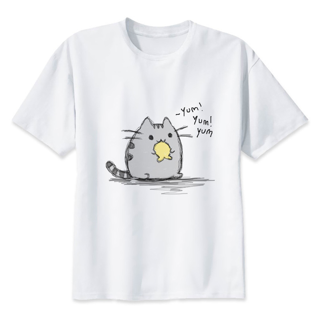 Japanese cat style t-shirt for woman