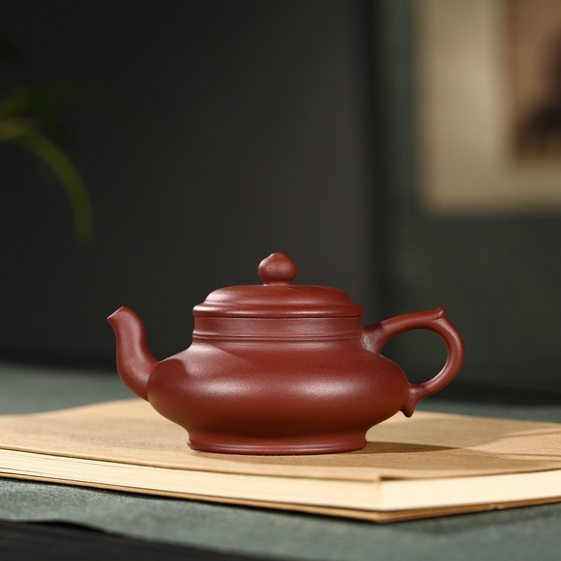 Rhyme sea sand pot recommended yixing masters all hand product launches wechat business agent flat pot 160 mlRhyme sea sand pot recommended yixing masters all hand product launches wechat business agent flat pot 160 ml