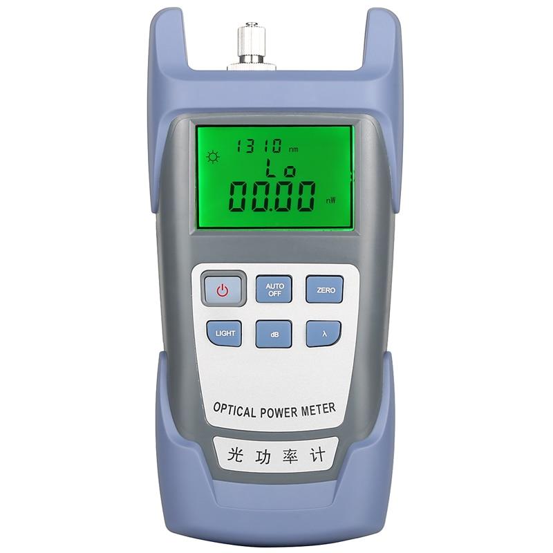 Gray AUA-9 Optical Power Meter Fiber Tester Light Decay Tester Light Multimeter Send SC / FC Connector