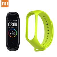 Original mi Band 4 NFC 5ATM Wasserdichte Smart Xiao mi mi Band 4 mit Ersatz Band Herz Rate Schlaf Tracker smart mi band 4-in Intelligente Armbänder aus Verbraucherelektronik bei