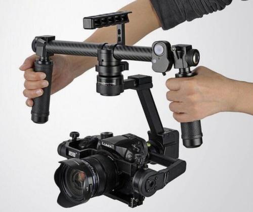 Summer GH4/A7S Camera 3 axis 32bit Brushless DSLR Handheld Stabilizer Gimbal цена
