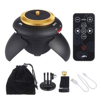 MRP01 Электрический мини-Трипод с поворотом на 360 градусов для GoPro, экшн-камеры, селфи-палки, смартфонов