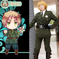 Halloween ROLECOS New Arrival Anime Hetalia Axis Powers Cosplay Costumes United Kingdom Military Uniform Cosplay Costumes
