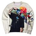 New 2016 men's fashion 3d jerseys clown printing fancy Hoodies men sweatshirt thrasher hoodie hip hop tracksuit streetwear