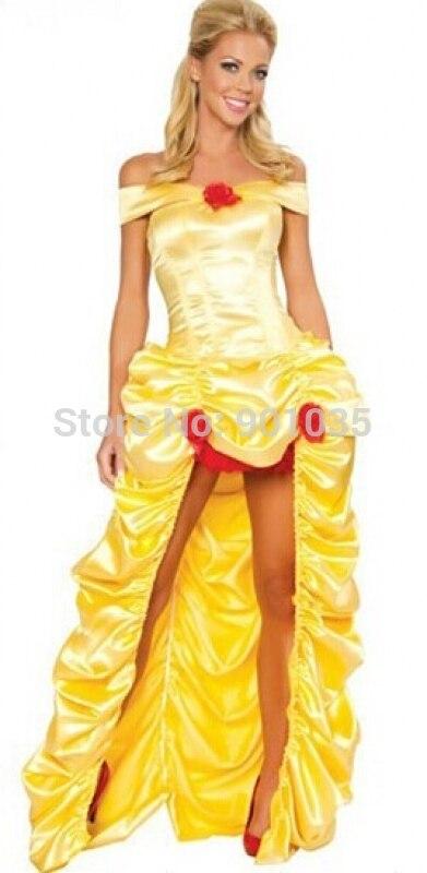 Popular Deluxe Belle Costume-Buy Cheap Deluxe Belle Costume lots ...
