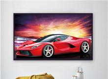 5D Diamond embroidery scenic diamond painting cross stitch round  sets unfinished decorative diy   car цена