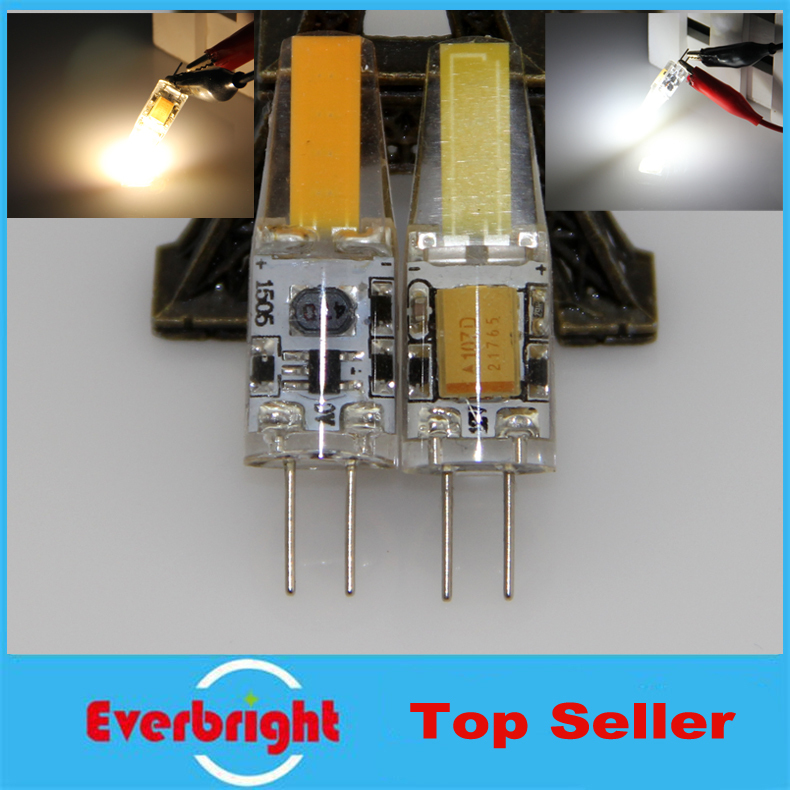 X50 G4 1505 SMD 3W LED Corn Crystal lamp light LED Bulb Silicone Body Chandelier AC/DC 12V Cool White/Warm White energy saving