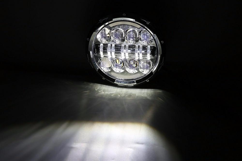 Novi! 2PCS 7-inčna prednja svjetla motocikla HI / Lo kratka svjetla - Svjetla automobila - Foto 5
